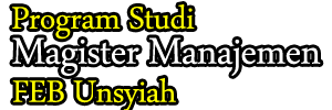 Program Studi Magister Managemen Unsyiah