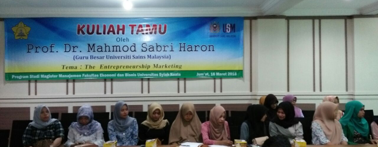 Kuliah Tamu: The Entrepreneurship Marketing